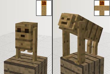 Mo' Golems - Wood Plank Golem