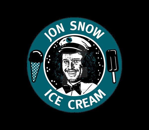 Jon Snow Ice Cream By Quedesenholegal On Deviantart