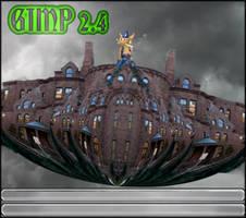 my Custom Gimp Splashscreen by photocomix-resources
