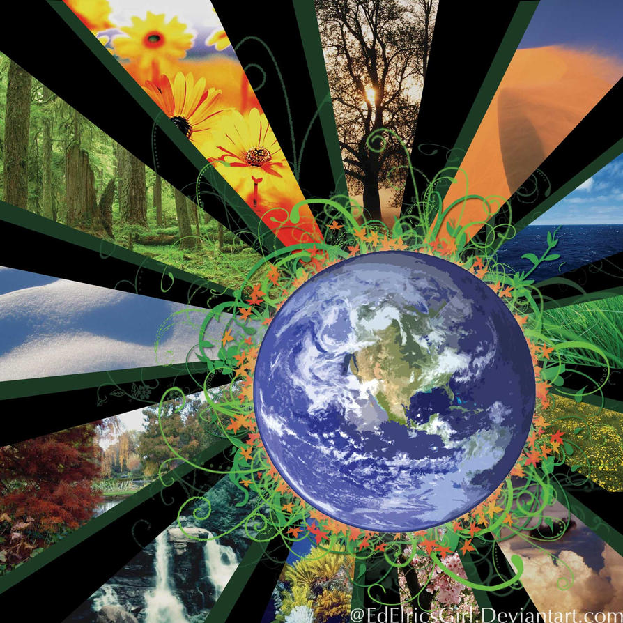 SP: Earth Day Project by EdElricsGirl