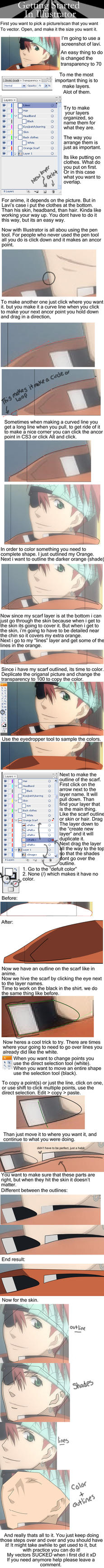 Adobe Illustrator Tutoral by EdElricsGirl
