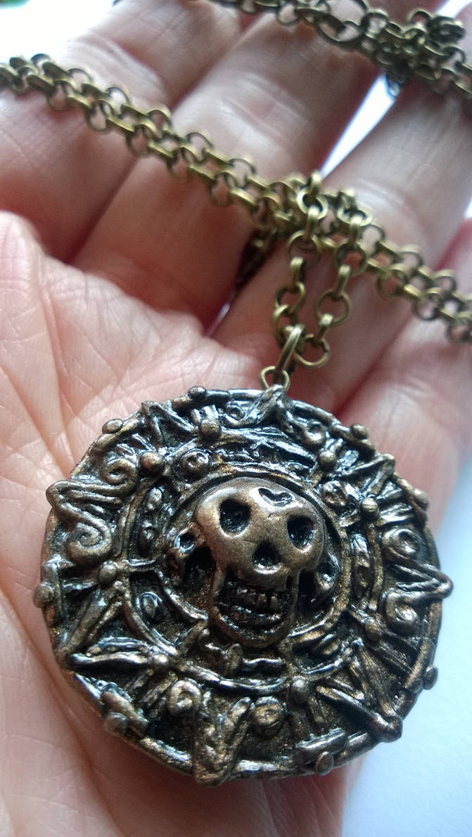 Pirates of the Caribbean Aztec Coin