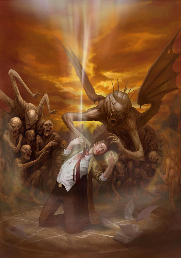 Hellblazer by IlyaSuhoi