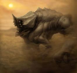 Desert crab by IlyaSuhoi