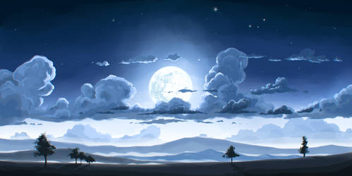 Moon valley by JustV23