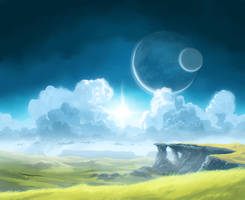 Distant world by JustV23