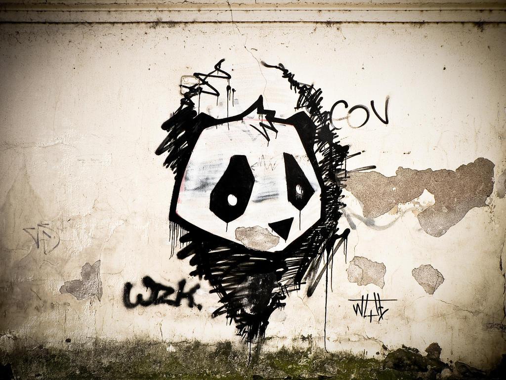 Panda By JustV23 On DeviantArt