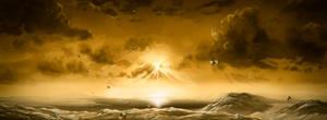Titan's rain