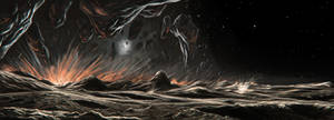 Iapetus ridge formation