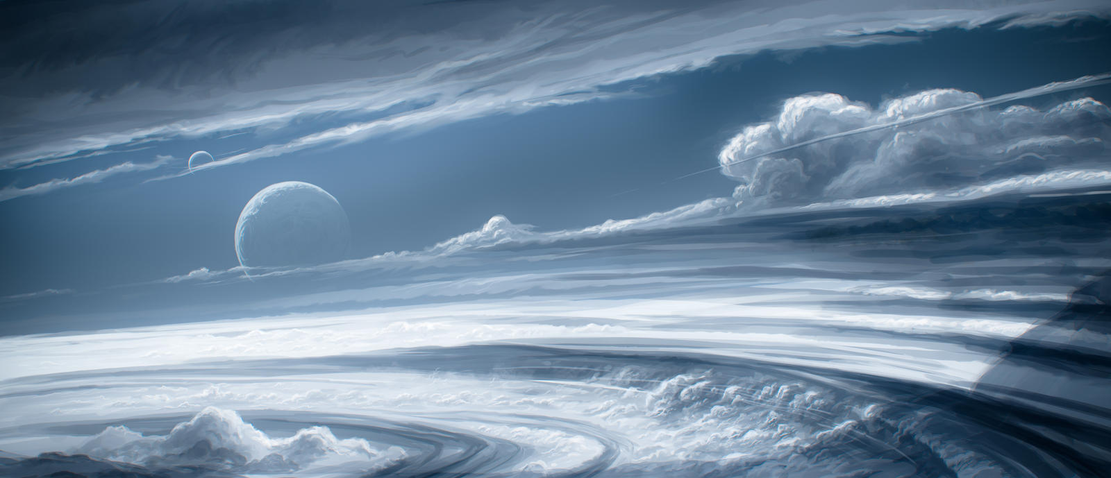 Fast skies background by JustV23