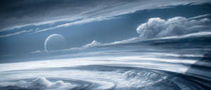 Fast skies background