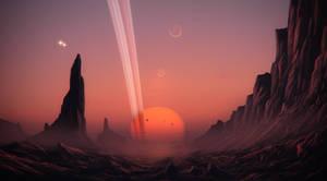Red dwarf by JustV23