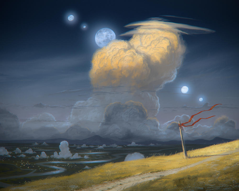 Midsummer conjunction by JustV23