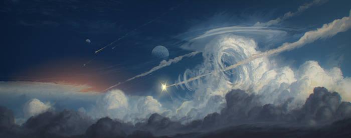 Sky Arrows by JustV23