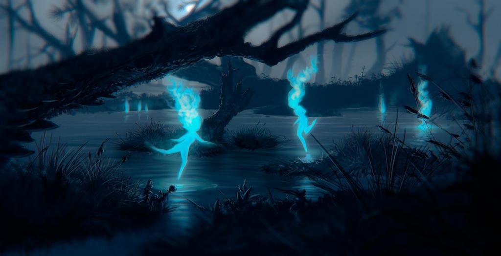 swamp spirits by justv23 on deviantart