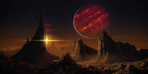Brown dwarf by JustV23