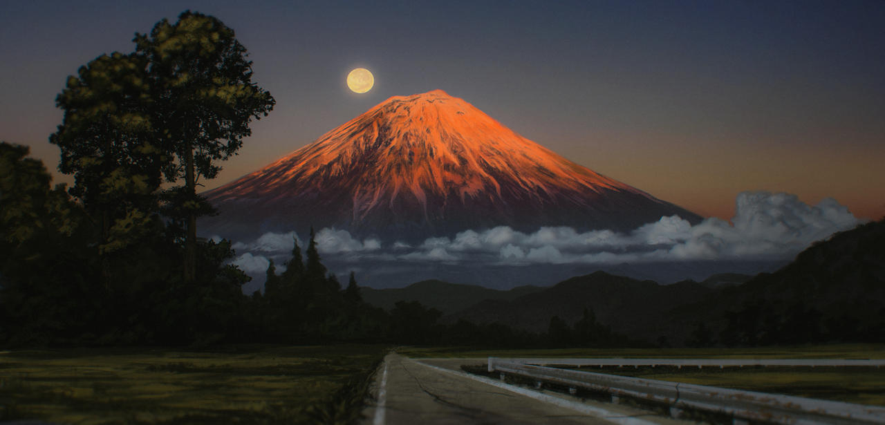 Mount Fuji by JustV23