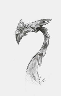 Biust of a dragon?