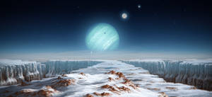 Alien Neptune by JustV23