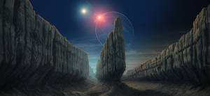 Distant eclipse