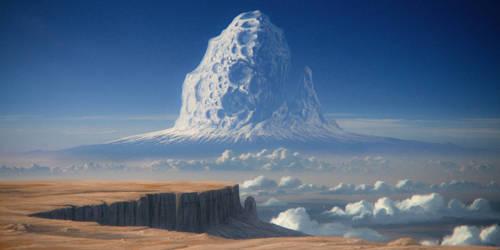 Asteroid mountain