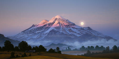 Dream Volcano by JustV23