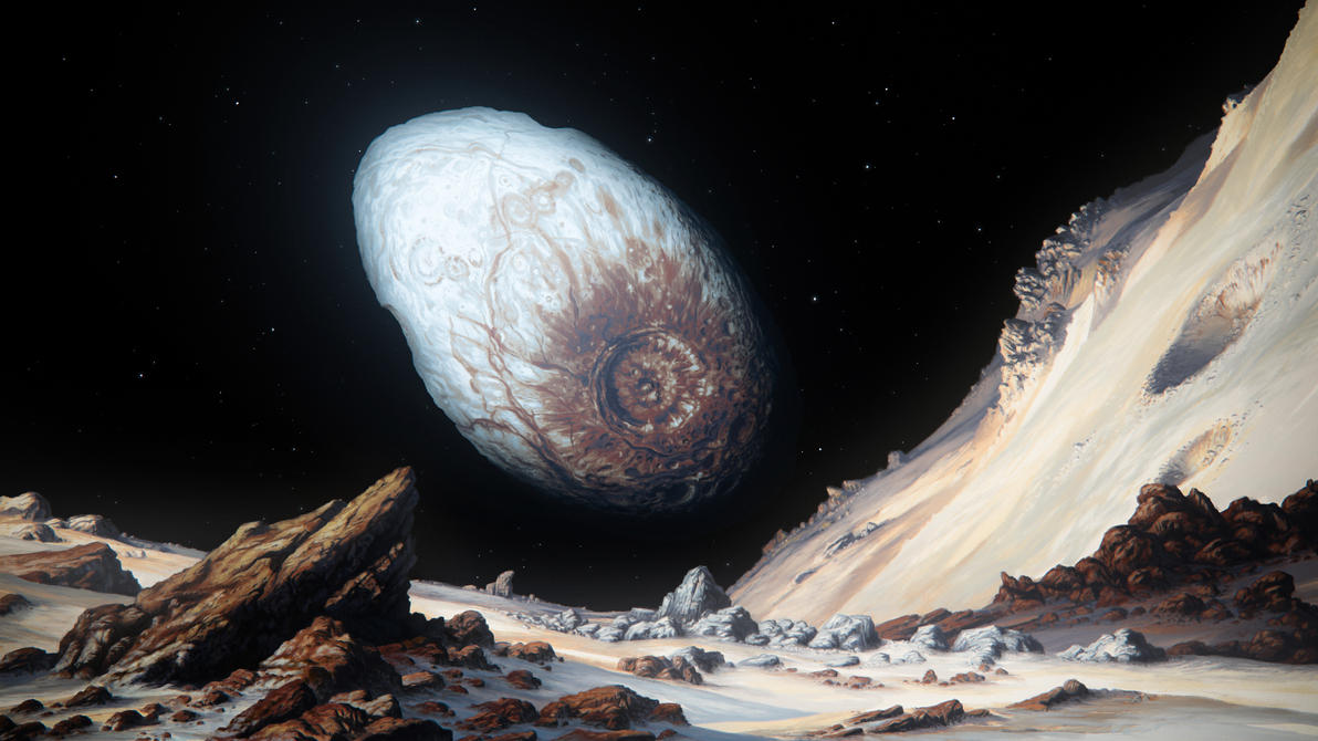 Haumea by JustV23