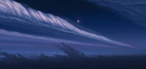 Sky of Neptune by JustV23