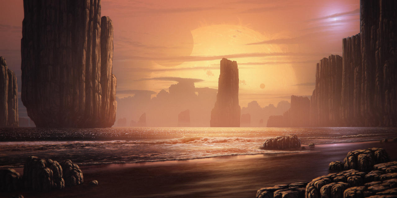 Red Dwarf World by JustV23