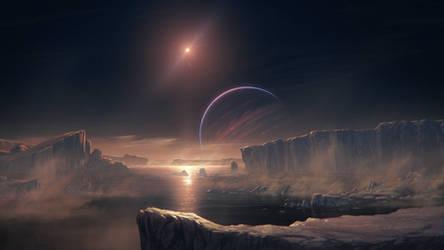 Triton's ocean
