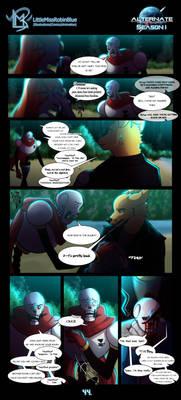 Alternate (Season 1: Page 44) tw: blood
