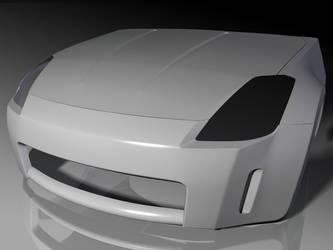 Nissan 350Z - WIP1 by steveee