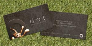 new business card by EdgarGomezArt