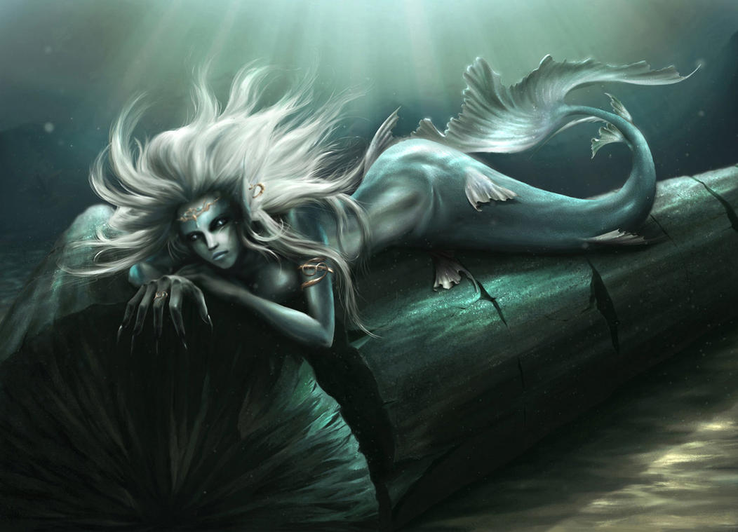 mermaid collab by EdgarGomezArt