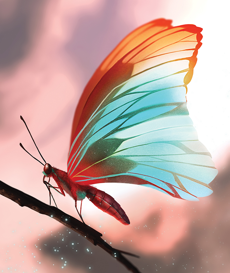 Butterfly by EdgarGomezArt
