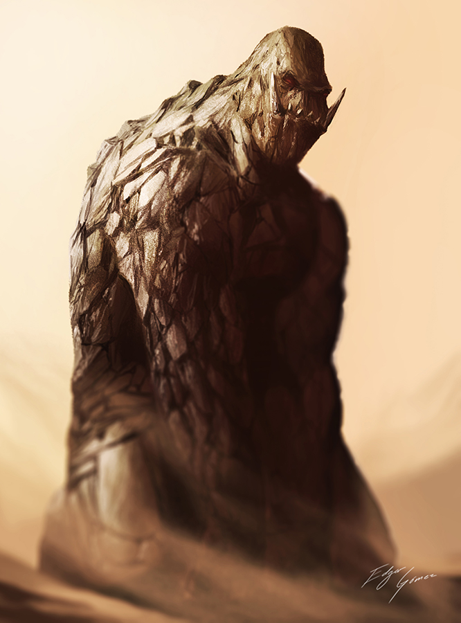 Gutsman Reimagined by EdgarGomezArt