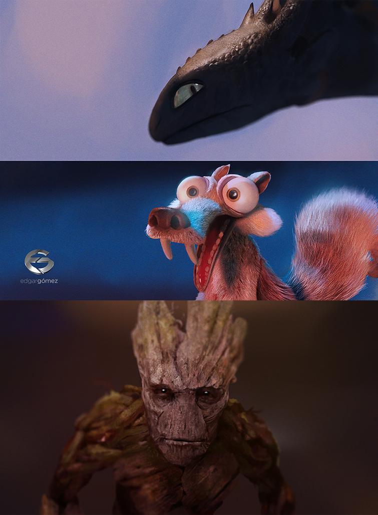 Speed studies by EdgarGomezArt