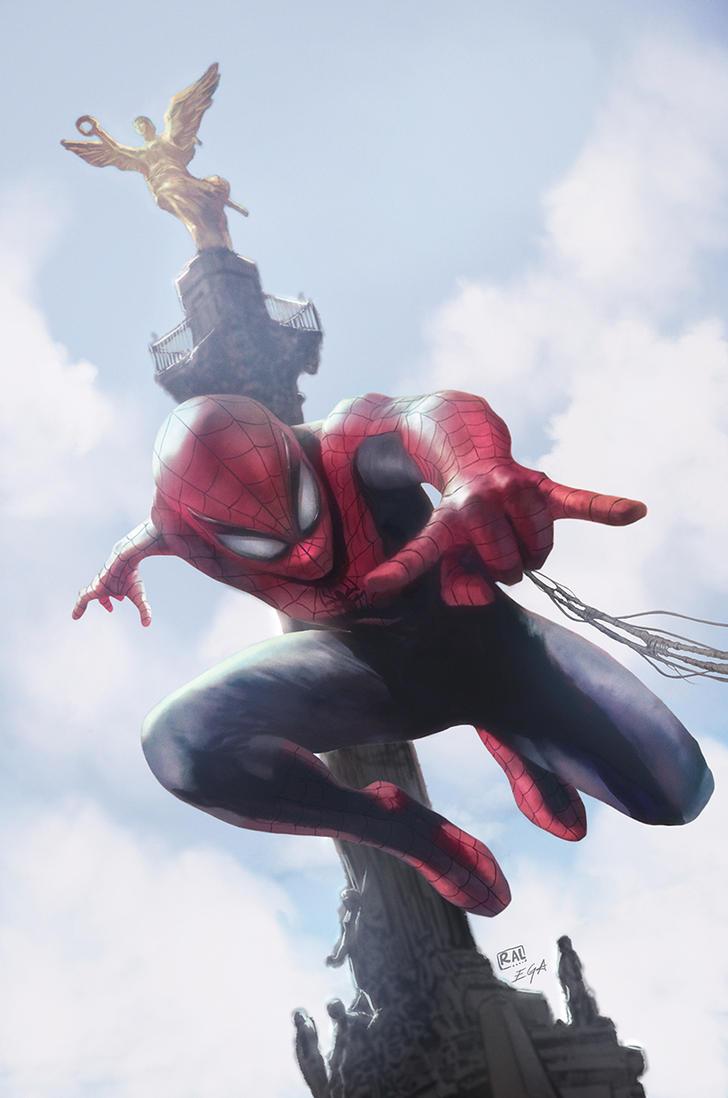 Spiderman Cover by EdgarGomezArt
