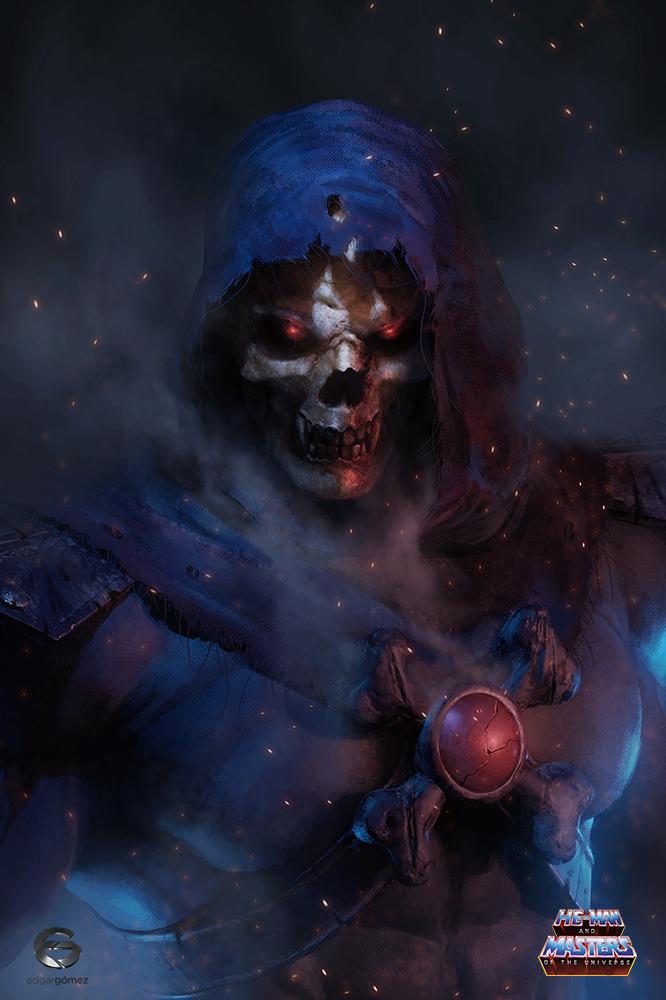 Skeletor by EdgarGomezArt