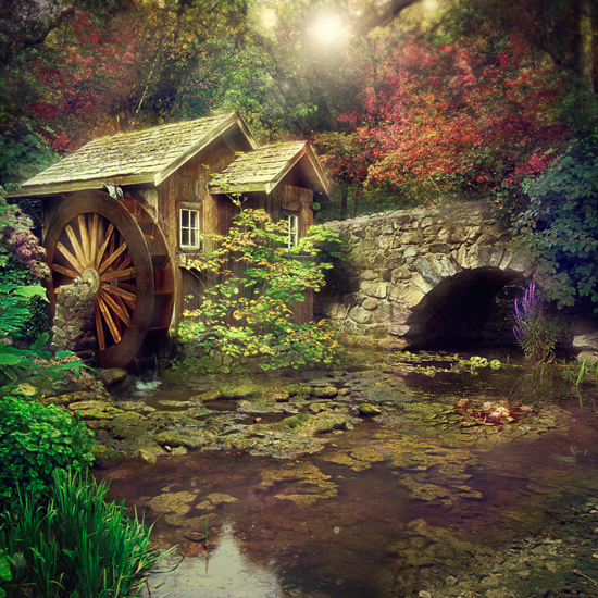 Mill by blaithiel