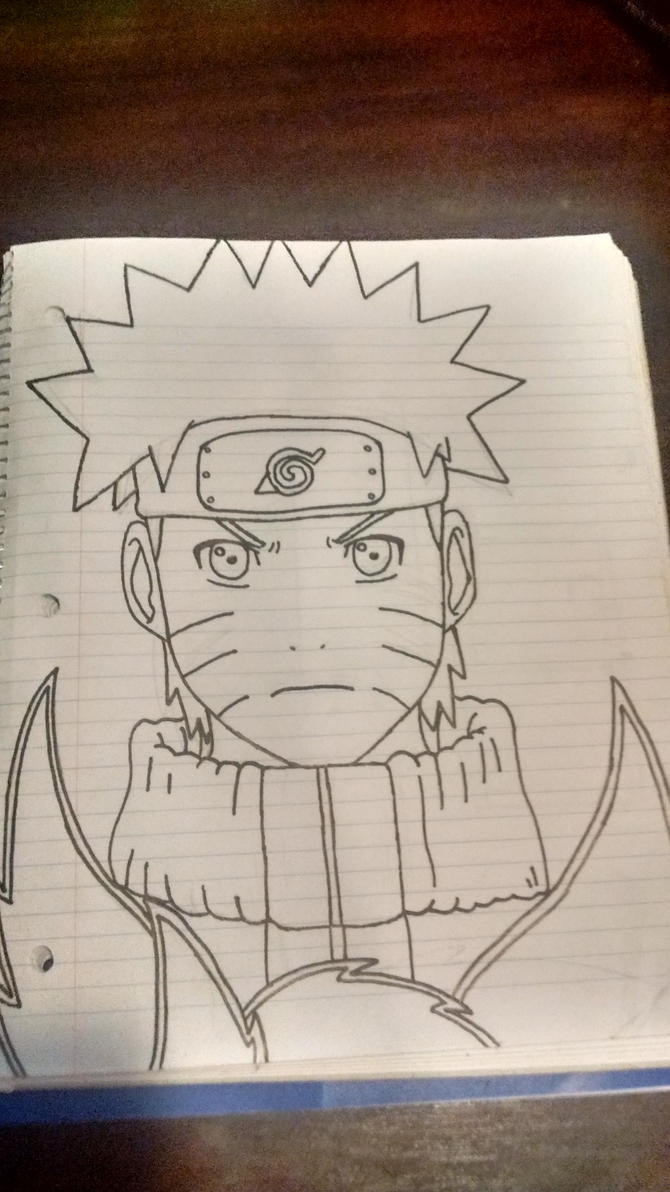 Naruto(outlined) by Kiwi2005