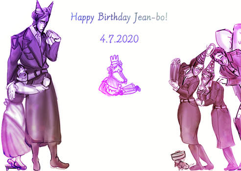 Happy birthday Jean!