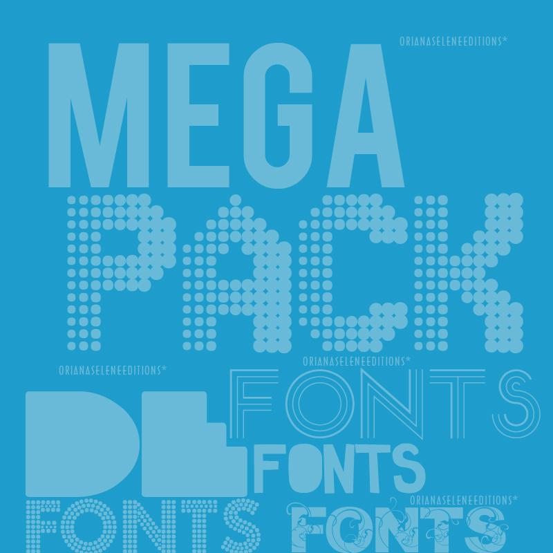 Download Download Fonts Mega Pack 102 000 Fonts Torrent [Blues ...