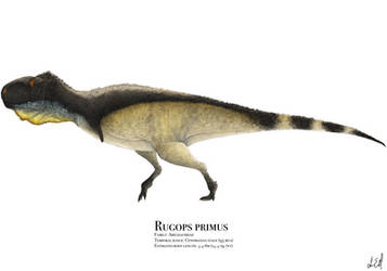 Rugops by PrehistoryByLiam