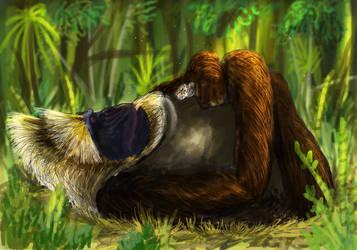 Kitten Kong by PrehistoryByLiam