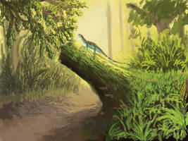 Triassic Forest Practice by PrehistoryByLiam