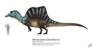 Spinosaurus by PrehistoryByLiam