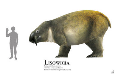 Lisowicia by PrehistoryByLiam