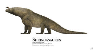 Shringasaurus by PrehistoryByLiam