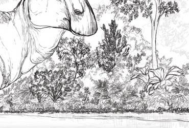 Cretaceous scene sneak peek